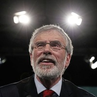 Gerry Adams 20/1 to be next Irish president