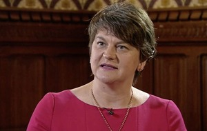 Arlene Foster claims taoiseach is being 'reckless' ahead of crucial Brexit talks