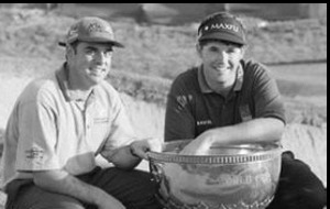 Back in the day: The Irish News - Nov 24 1997: Padraig Harrington and Paul McGinley crowned World golf champions