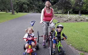 Belfast mum back cycling two years after suffering a stroke