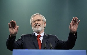 Gerry Adams 'will not lead Sinn Féin into snap election'