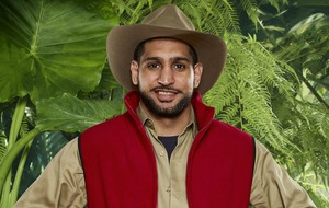 I'm A Celeb's Amir Khan takes on a camel and spiders in hilarious bushtucker trial