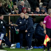 A fan stepped in to help referee Norwich City vs Preston North End after the linesman got injured