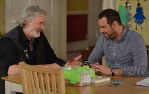 Mick becomes friendly with charming new EastEnders villain Aidan
