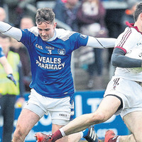 Slaughtneil footballers relieved not to let the side down