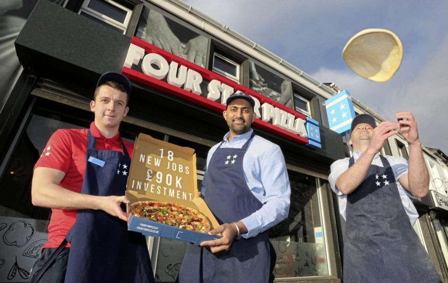 Four Star Pizza Creates 18 Jobs With New Coleraine Store