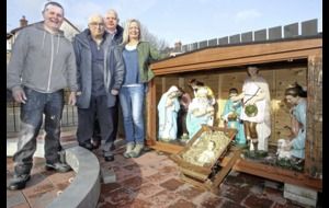 New birth for Newtownabbey nativity figures