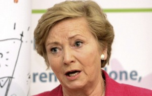 Frances Fitzgerald's resignation statement