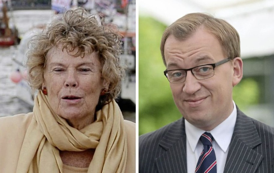 Labour MP Kate Hoey and DUP assembly member Christopher Stalford