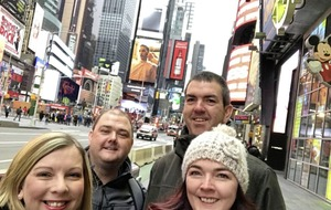 Marie Louise McConville: New York trip helps take the sting out of big birthday bite