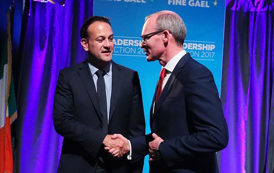 Taoiseach Leo Varadkar has appointed Simon Coveney as tánaiste