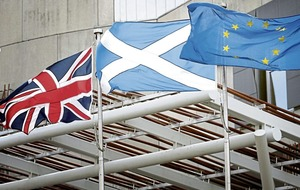 Almost two-thirds of Scots want powers held by Brussels transferred to Holyrood and not Westminster after Brexit