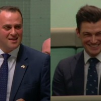 Watch as this Australian MP proposes to his boyfriend in Parliament during a gay marriage debate