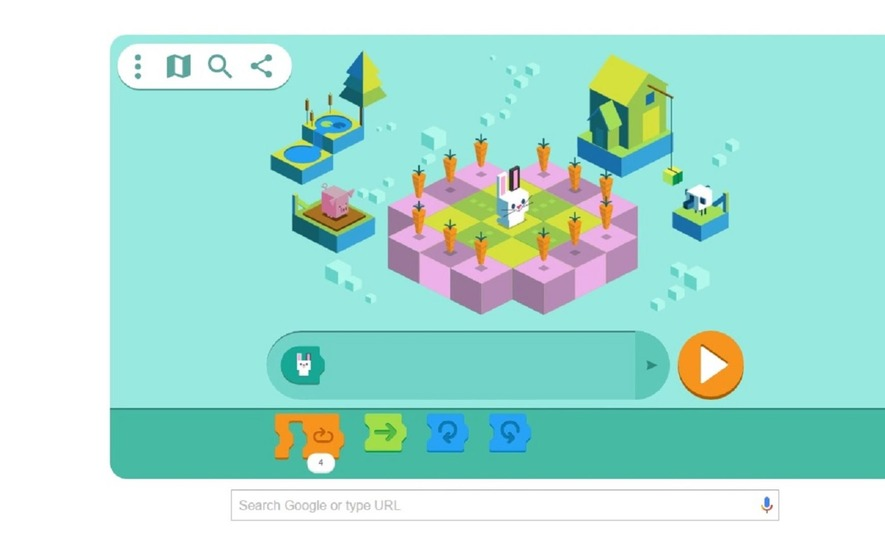 3f6f4d1c5277 Google s latest Doodle will help you learn how to code - The Irish News