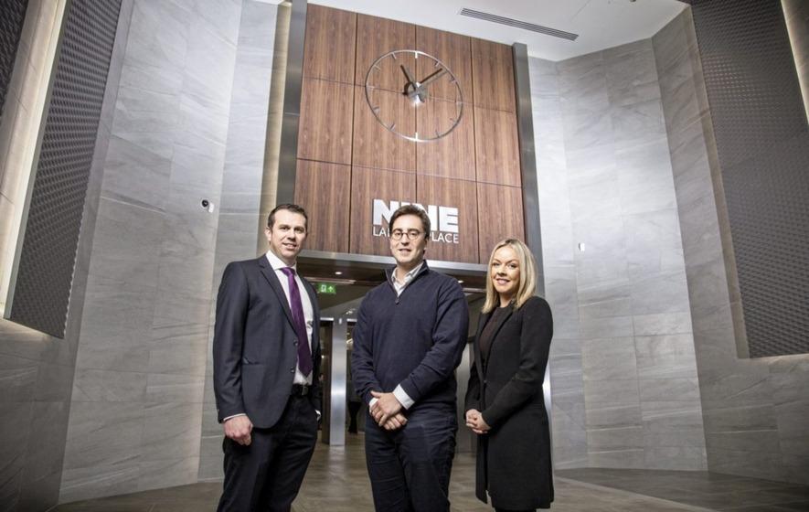 Damian Mitchell Property Director At Causeway Asset Management Tom McClellan National Business Development UK Ireland WiredScore And Danielle Hanvey