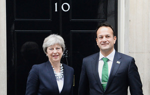 Leo Varadkar tells Theresa May 'the ball is in your court; on Brexit border issue