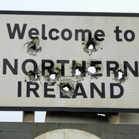 PSNI to liaise with department over 'Welcome to Northern Ireland' border sign peppered with bulletholes