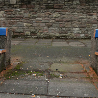Benches removed from public space in Belfast city centre used by rough sleepers