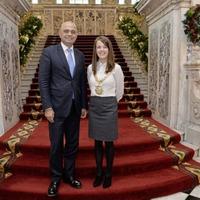 British cabinet minister Sajid Javid visits Belfast after announcement of £1 billion 'region city deal'
