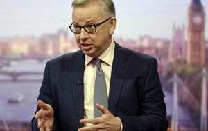 Gove applauds Brexit deal 'significant personal achievement for the prime minister'