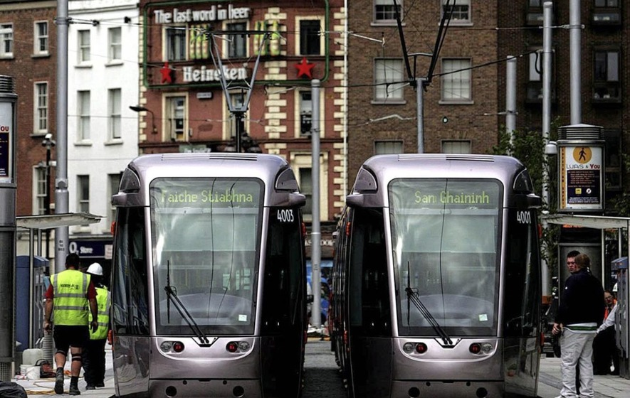 House Prices 'Rocket' Near New Luas Stops