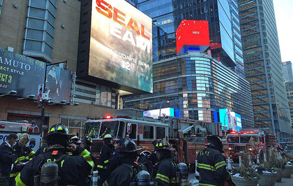 Four including suspect injured in New York subway pipe bomb explosion