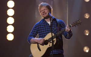 Ed Sheeran on course to top both single and album charts