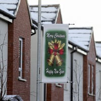 'Shared' housing area flags turn from UVF to Yuletide