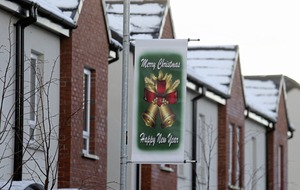Christmas decorations where loyalist flags once blighted `shared' housing