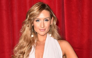 Catherine Tyldesley dresses as 'bondagey reindeer' for Corrie