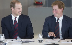 William and Harry set to join showbiz royalty for Star Wars premiere