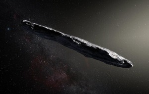 Mysterious cigar-shaped object could be alien spacecraft, scientists say