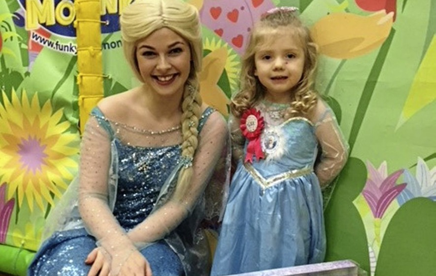 Marie Louise McConville: Elsa makes a magical appearance at Abbie's birthday bash