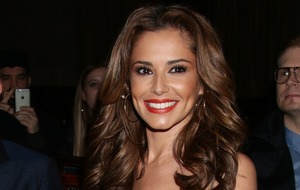 Cheryl returns to the recording studio nine months after having baby