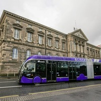 New 'glider' buses unveiled in Belfast