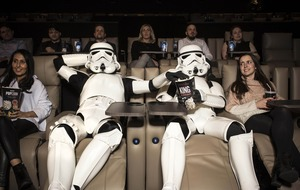 Star Wars superfans turn out in their droves for midnight screening