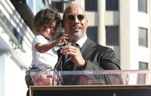 Dwayne Johnson says Hollywood Walk of Fame star is 'monumental'