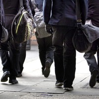 One per cent of primary school children take bikes to school