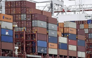 Exporters selling their wares in record-breaking volumes, figures show