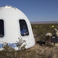 Amazon boss Jeff Bezos successfully tests new Blue Origin astronaut capsule