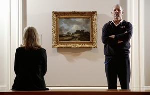 Seventeenth century Dutch masterpiece stolen by an IRA gang and Martin Cahill displayed in the Ulster Museum