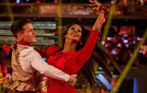 Alexandra Burke stakes early claim for Strictly crown with perfect 40