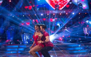 Alexandra Burke tops Strictly leaderboard as finalists take on final dance