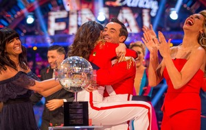 Politicians and celebrities flock to congratulate Strictly winner Joe McFadden