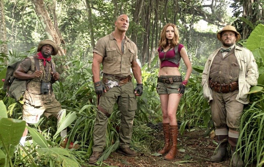 Blown away by reactions to 'Jumanji', says Dwayne Johnson