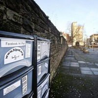Kindness drawers returned to public square in Belfast city centre