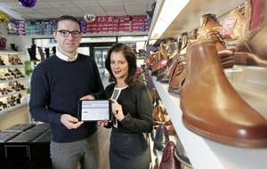 It's a shoe-in for Seamus as shop becomes BT's 300,000th fibre broadband customer