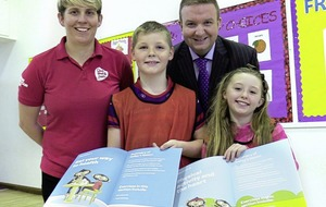 Chester's Challenge teaches schoolchildren the importance of living healthily