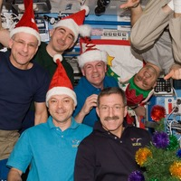 What do astronauts eat at Christmas on the ISS?