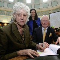 Bob Geldof: Sinn Féin need to get a grip and grow up